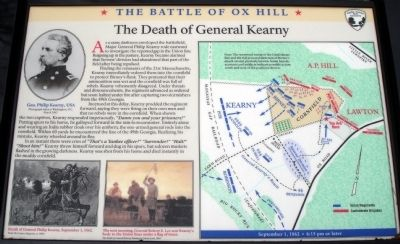 The Death of General Kearny Marker Photo, Click for full size