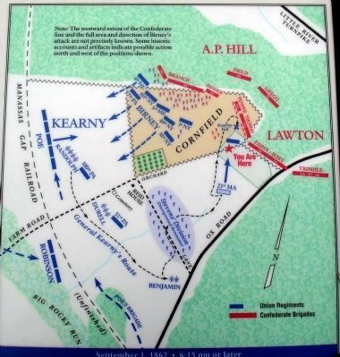 Battle Map on Marker Photo, Click for full size