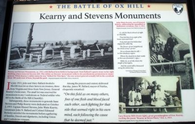 Kearny and Stevens Monuments Marker image. Click for full size.