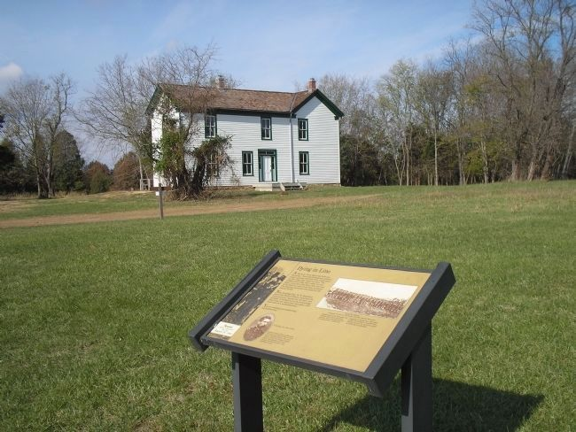 Marker at the Brawner Farm image. Click for full size.