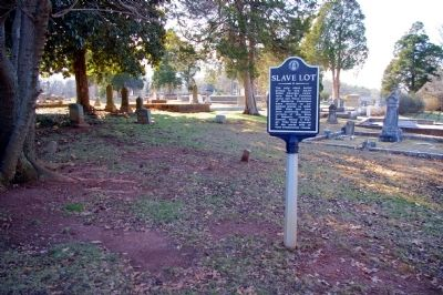 Slave Lot Marker image. Click for full size.
