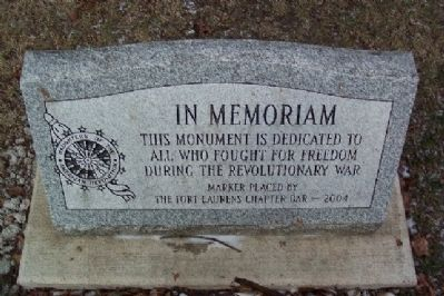 Revolutionary War Memorial image. Click for full size.