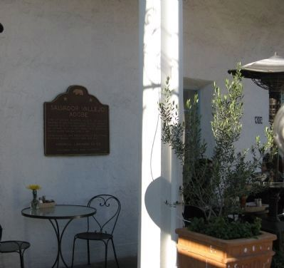 Salvador Vallejo Adobe Marker Photo, Click for full size