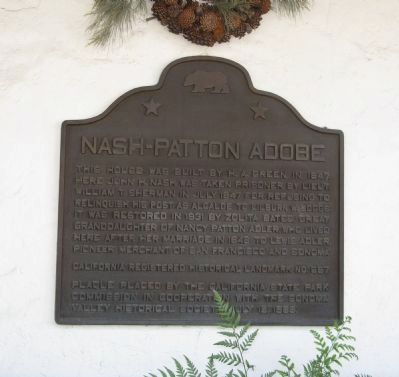 Nash-Patton Adobe Marker image. Click for full size.