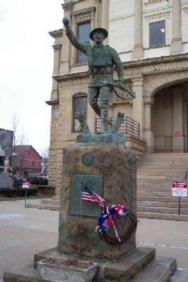 Tuscarawas County World War I Memorial image. Click for full size.