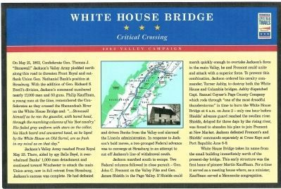 White House Bridge Marker Photo, Click for full size