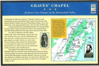 Graves' Chapel Marker image. Click for full size.