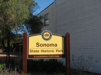 Sonoma State Historic Park image. Click for full size.