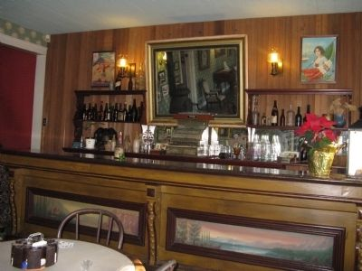 The Bar at the Toscano Hotel Photo, Click for full size