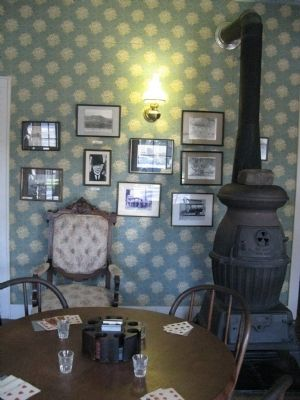 Toscano Hotel Museum Display Photo, Click for full size