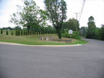 Entrance to the Blue Ridge Bible Church Photo, Click for full size