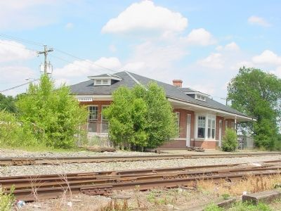 Crozet Station, Now the Public Library image. Click for full size.