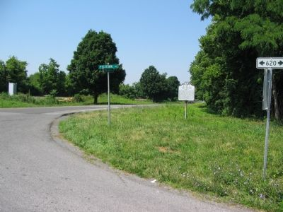 Intersection of Lord Fairfax Highway and Pyletown Road Photo, Click for full size