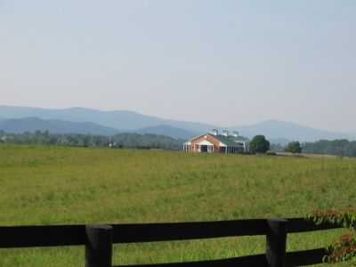 The Blue Ridge as a Backdrop image. Click for full size.