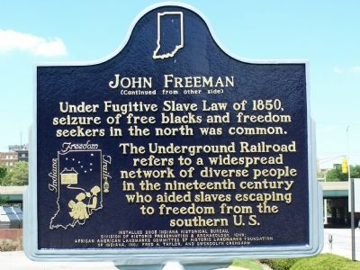 Side Two: John Freeman Marker image. Click for full size.