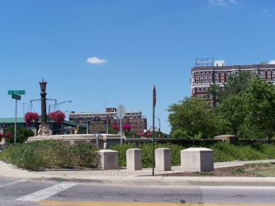 Joseph W. Summers Memorial Bridge Marker Photo, Click for full size
