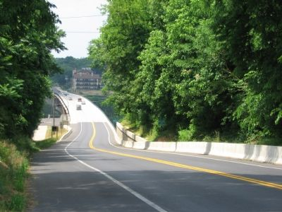 The James Rumsey Bridge Looking into West Virginia Photo, Click for full size