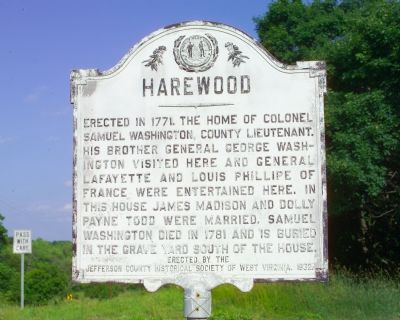 Harewood Marker image. Click for full size.