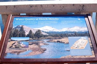 Water Quality at Hetch Hetchy image. Click for full size.