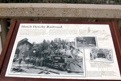 Hetch Hetchy Railroad image. Click for full size.