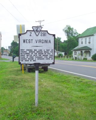 West Virginia / Frederick County Marker image. Click for full size.