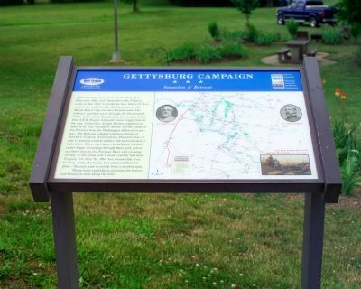 Gettysburg Campaign - Invasion & Retreat Marker Photo, Click for full size