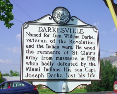 Darkesville Marker image. Click for full size.