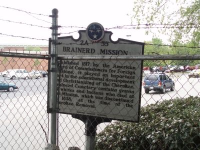 Brainerd Mission Marker image. Click for full size.