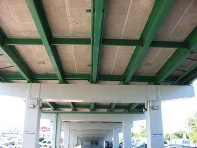 Underside of Approach Bridge Photo, Click for full size