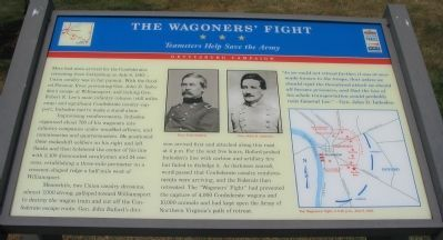 The Wagoners' Fight Marker image. Click for full size.