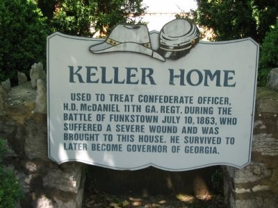Keller Home Marker image. Click for full size.
