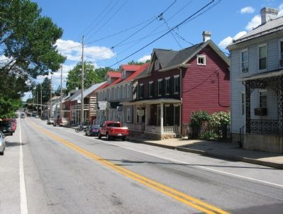 Funkstown Today (Looking Down the Old National Pike) image. Click for full size.