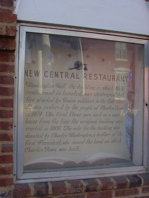 "New Central Restaurant ""Marker"" image. Click for full size."