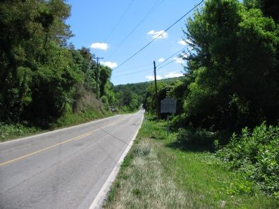 Looking Up Gapland Road Toward Crampton's Gap image. Click for full size.