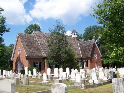 St. Thomas Church and Cemetery Photo, Click for full size