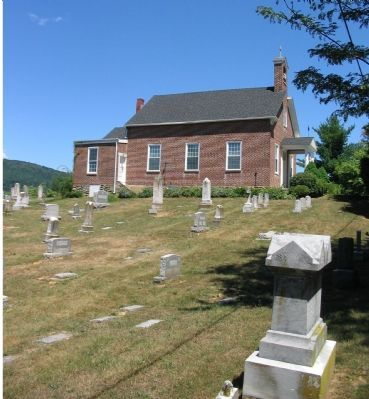 St. Luke's Episcopal Church and Cemetery image. Click for full size.