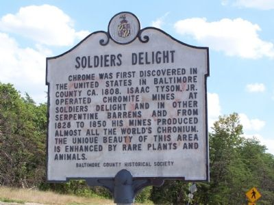 Soldiers Delight Marker image. Click for full size.
