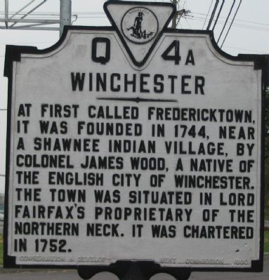 South Facing Side of Marker image. Click for full size.