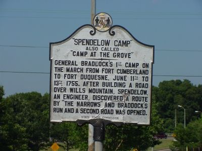 """Spendelow Camp"" Marker image. Click for full size."