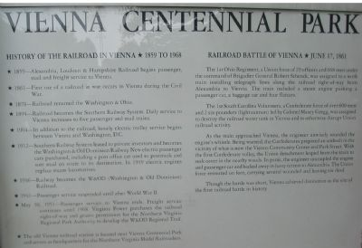 Front Side of Centennial Marker Photo, Click for full size