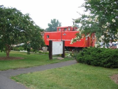 Marker and Caboose #503 Photo, Click for full size