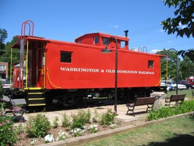 Caboose #503 Photo, Click for full size