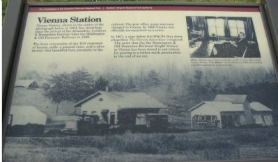 Vienna Station Marker Photo, Click for full size