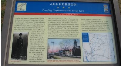 Jefferson Marker image. Click for full size.