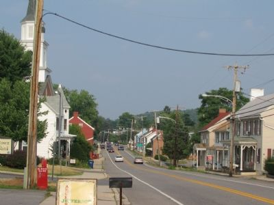 Modern Day View of Downtown Jefferson image. Click for full size.