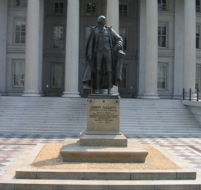 Albert Gallatin Statue image. Click for full size.