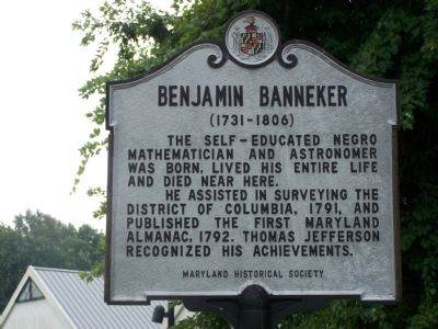 benjamin banneker essay sir suffer me to recall This question counts for one-third of the total essay section score) benjamin banneker, the son of former slaves sir, sufferl me to recall to your mind that time in.