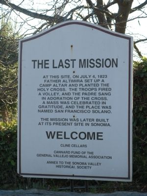 The Last Mission Marker image. Click for full size.