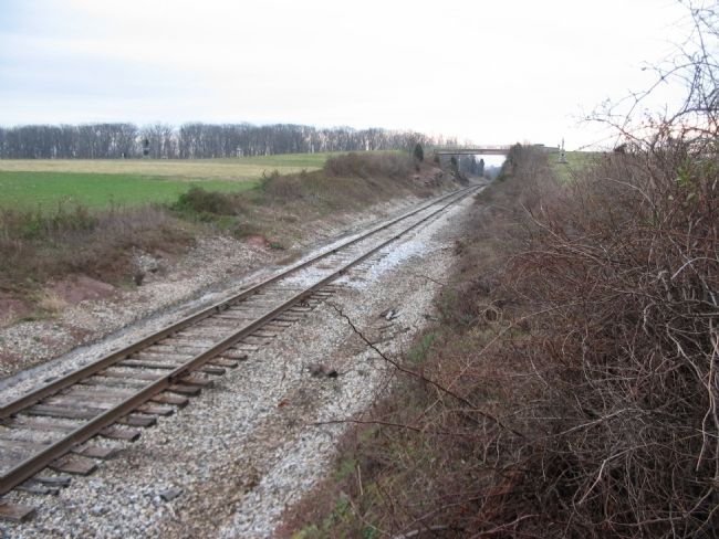 Railroad Cut Today image. Click for full size.