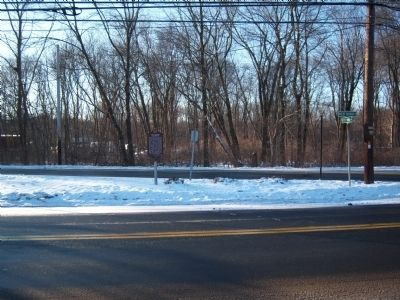 The Nyack Turnpike Marker Photo, Click for full size